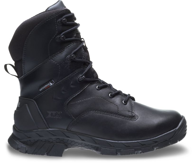 "Glacier Zip CSA Composite Toe Insulated Waterproof 8"" Boot, Black, dynamic"