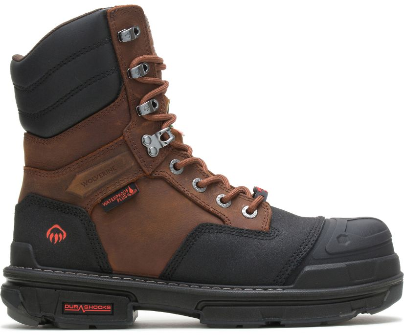 "Yukon CarbonMAX 8"" Boot, Brown, dynamic"