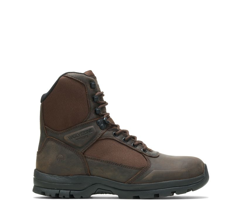 "Manistee 8"" Boot, Brown, dynamic"