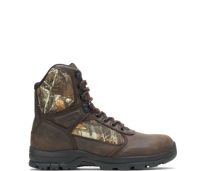 """Manistee 8"""" Boot, Brown/Camo, dynamic"""