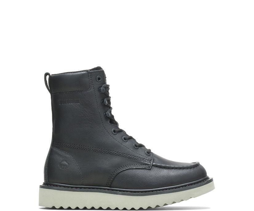 "Loader 8"" Wedge Boot, Black, dynamic"