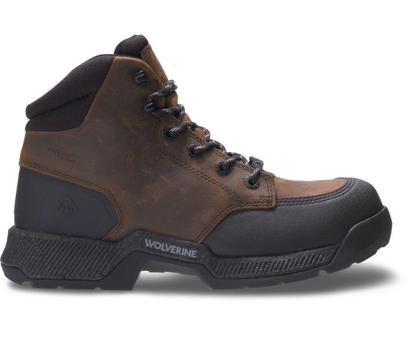 "Carom 5"" Work Boot, Dark Brown, dynamic"