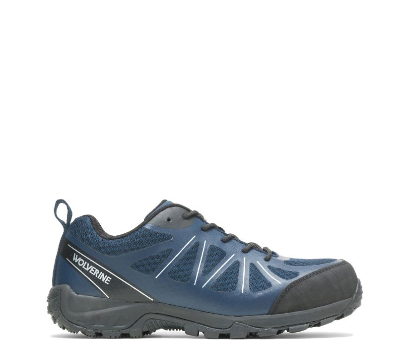 Amherst II CarbonMAX Work Shoe, Navy Blue, dynamic