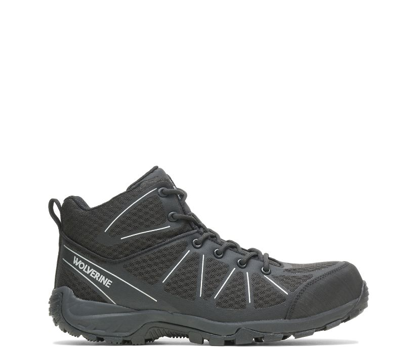 Amherst II CarbonMAX Work Boot, Black, dynamic