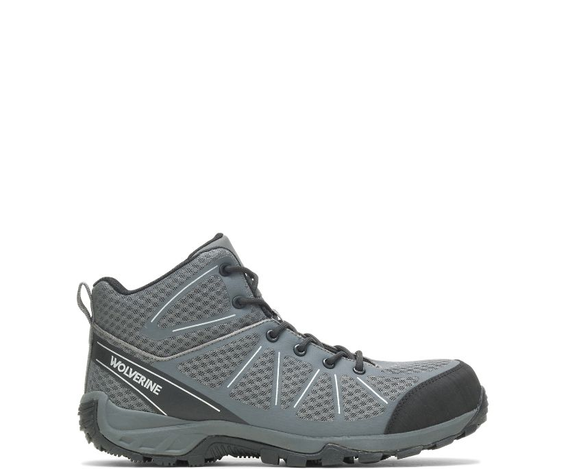 Amherst II CarbonMAX Work Boot, Grey, dynamic
