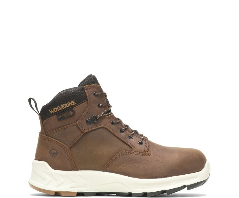 "ShiftPLUS Work LX 6"" Boot, Brown, dynamic"