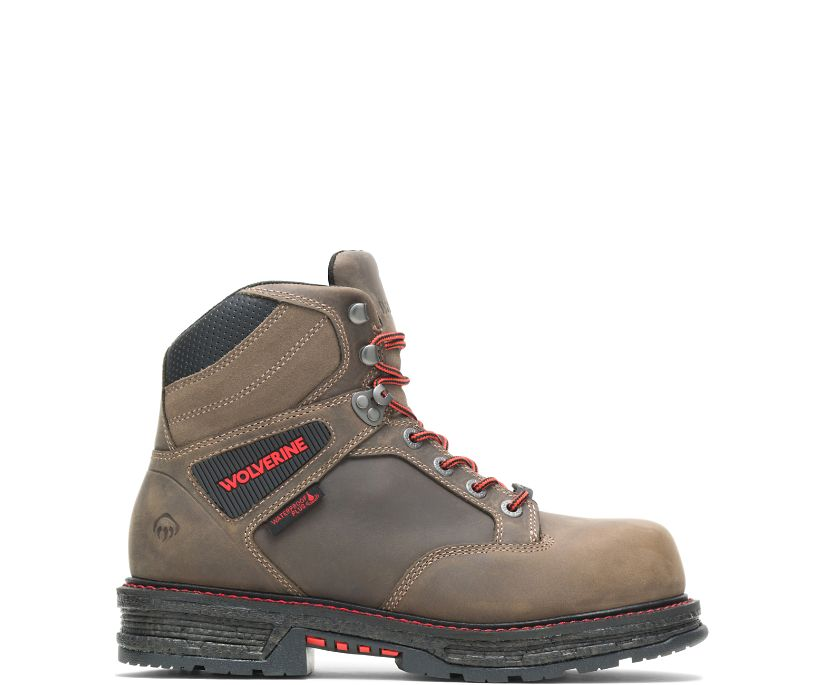 "Hellcat UltraSpring CarbonMAX 6"" Work Boot, Gravel, dynamic"