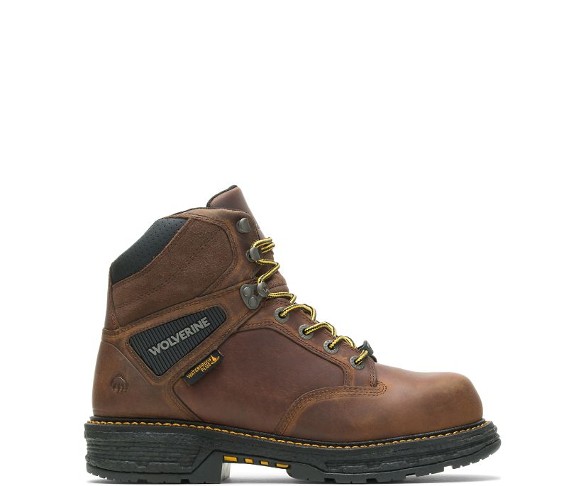 "Hellcat UltraSpring CarbonMAX 6"" Work Boot, Tobacco, dynamic"