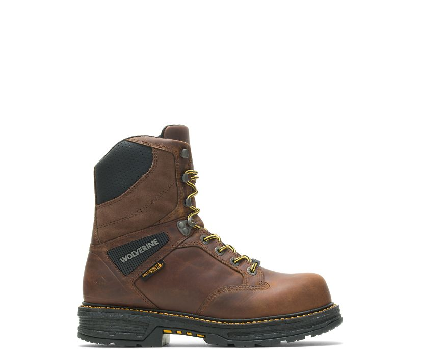 "Hellcat UltraSpring 8"" CarbonMAX Insulated Boot, Tobacco, dynamic"