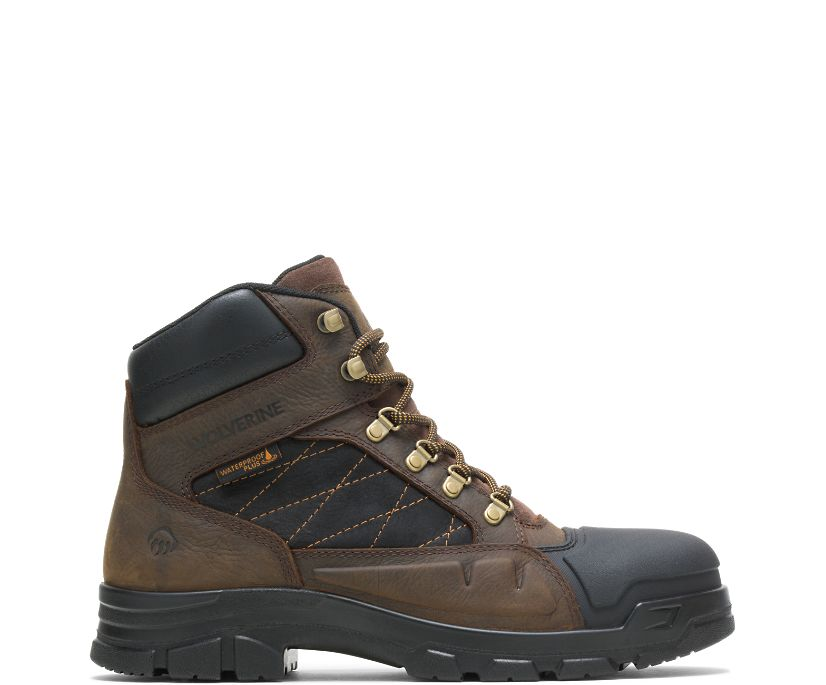 "Chainhand Defender Steel-Toe 6"" Boot, Brown, dynamic"