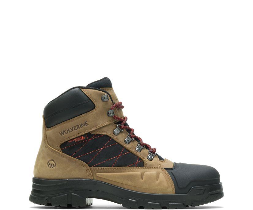 "Chainhand Defender Steel-Toe 6"" Boot, Gravel, dynamic"