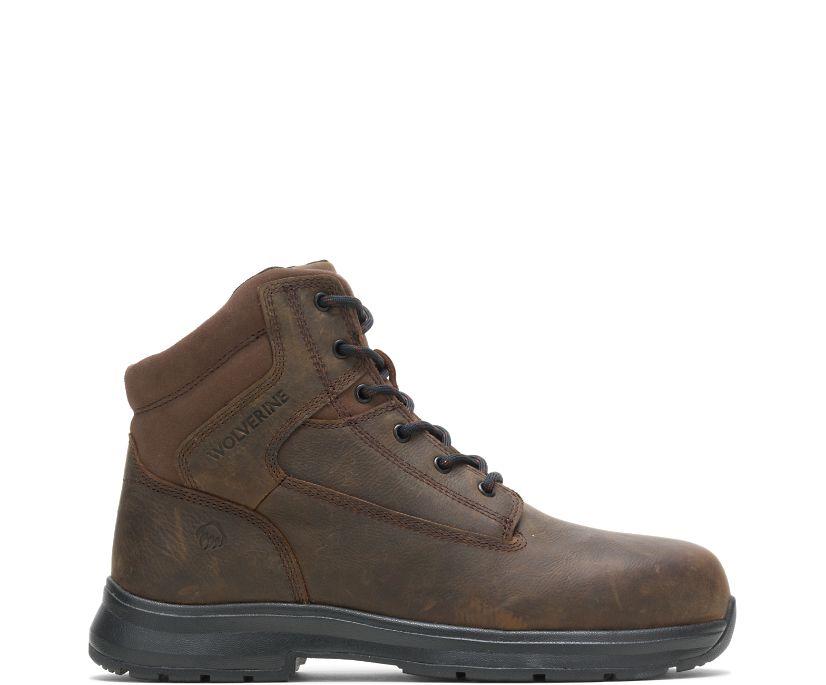 "Logan ESD Steel Toe 6"" Boot, Brown, dynamic"