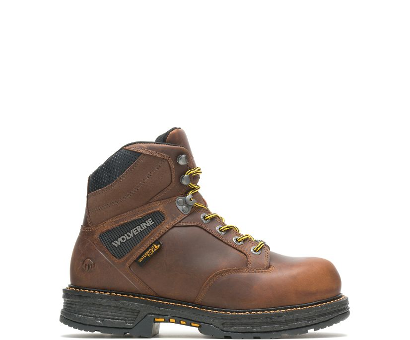 "Hellcat UltraSpring™ 6"" CarbonMAX Work Boot, Tobacco, dynamic"