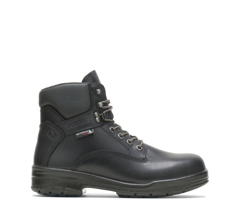 "DuraShocks® SR 6"" Steel Toe Boot, Black, dynamic"