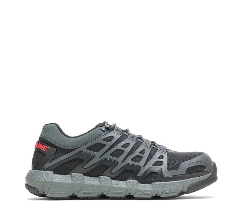 Rev Vent UltraSpring™ DuraShocks® CarbonMAX Shoe, Charcoal, dynamic
