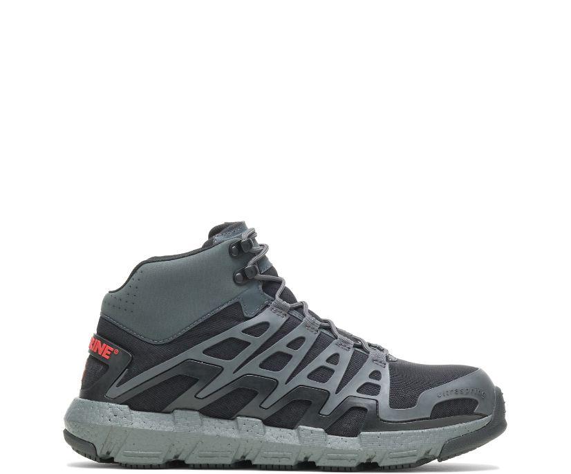Rev Vent UltraSpring™ DuraShocks® CarbonMAX Boot, Charcoal, dynamic