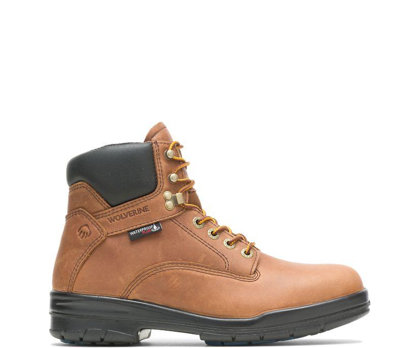 "DuraShocks® SR 6"" Steel Toe Boot, Copper, dynamic"