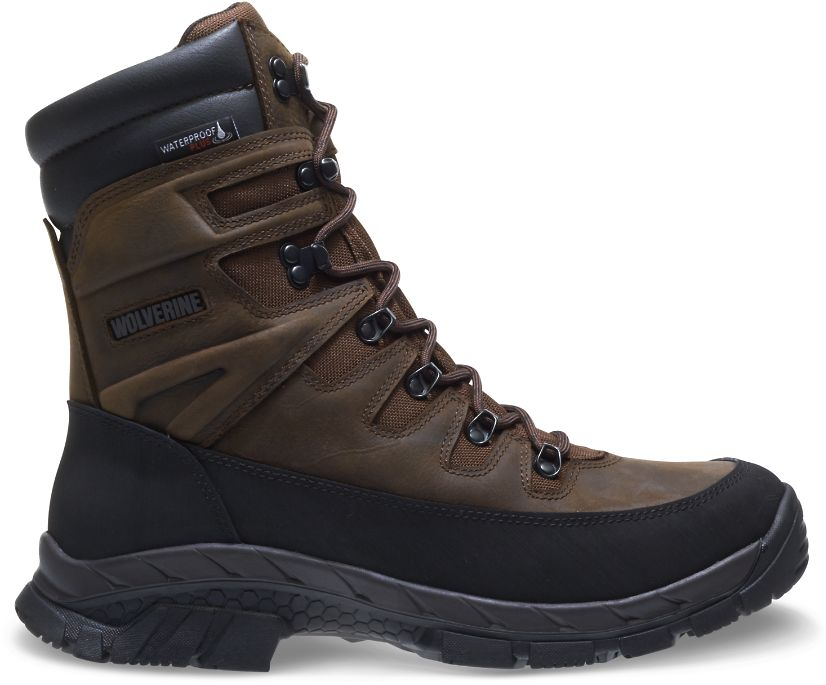 "Crossbuck Xtreme Insulated Waterproof 8"" Boot, Deep Wood, dynamic"