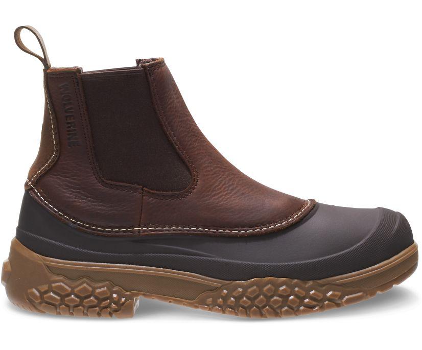 """Yak Waterproof 6"""" Boot, Brown, dynamic"""