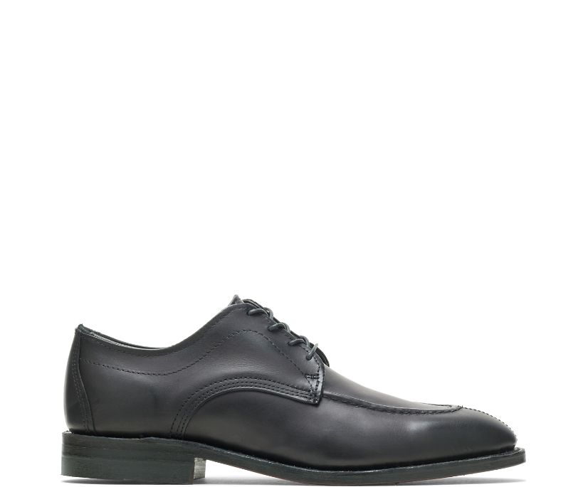 1000 Mile Split-Toe Oxford, Black, dynamic