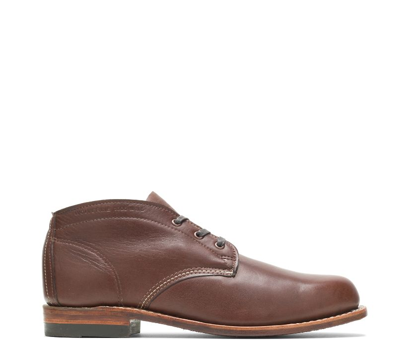 1000 Mile Original Chukka, Brown Leather, dynamic