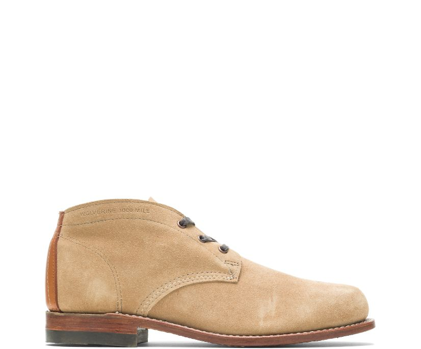 1000 Mile Original Chukka, Sand Suede, dynamic