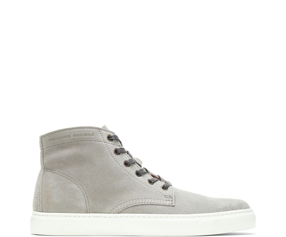 1000 Mile Original Sneaker, Light Grey Suede, dynamic