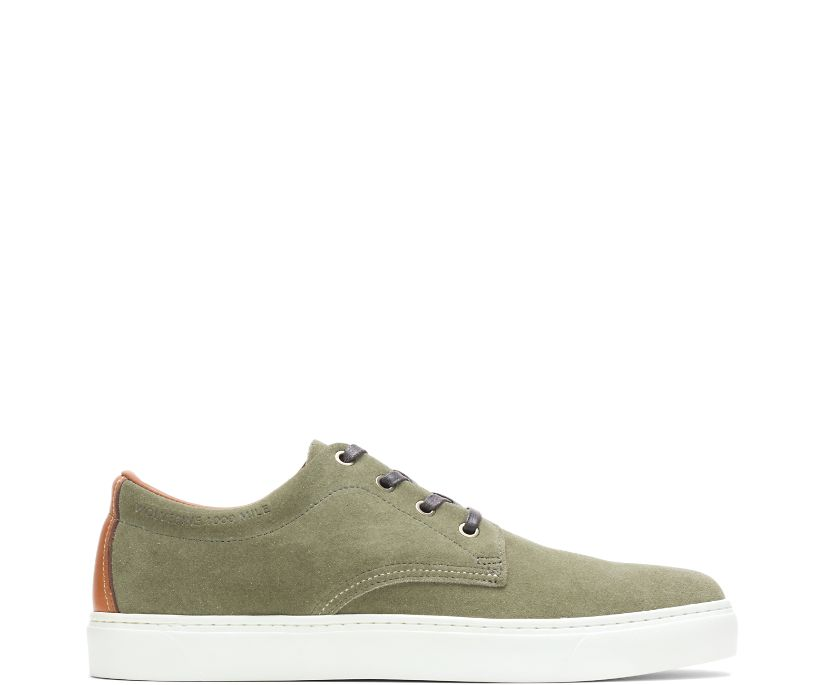 1000 Mile Original Sneaker Low, Green Suede, dynamic