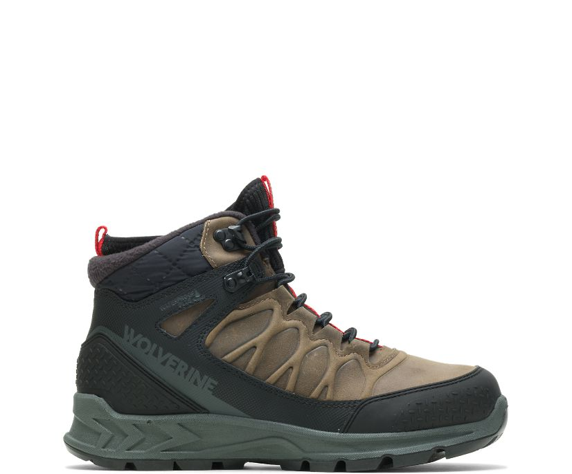 ShiftPlus Polar Range Winter Boot, Gravel, dynamic