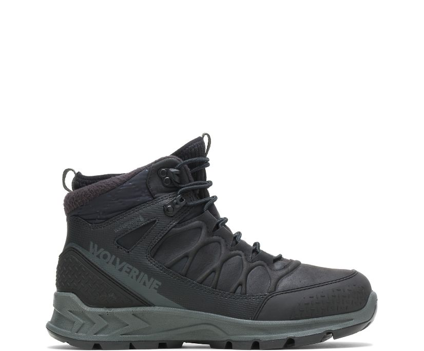 ShiftPlus Polar Range Winter Boot, Black, dynamic