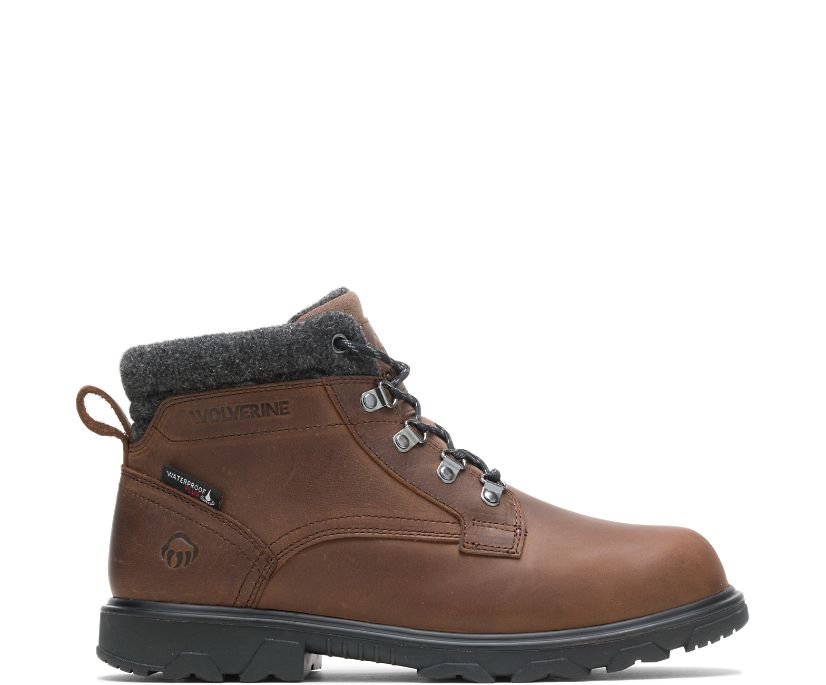 Drummond Lace Boot, Brown, dynamic