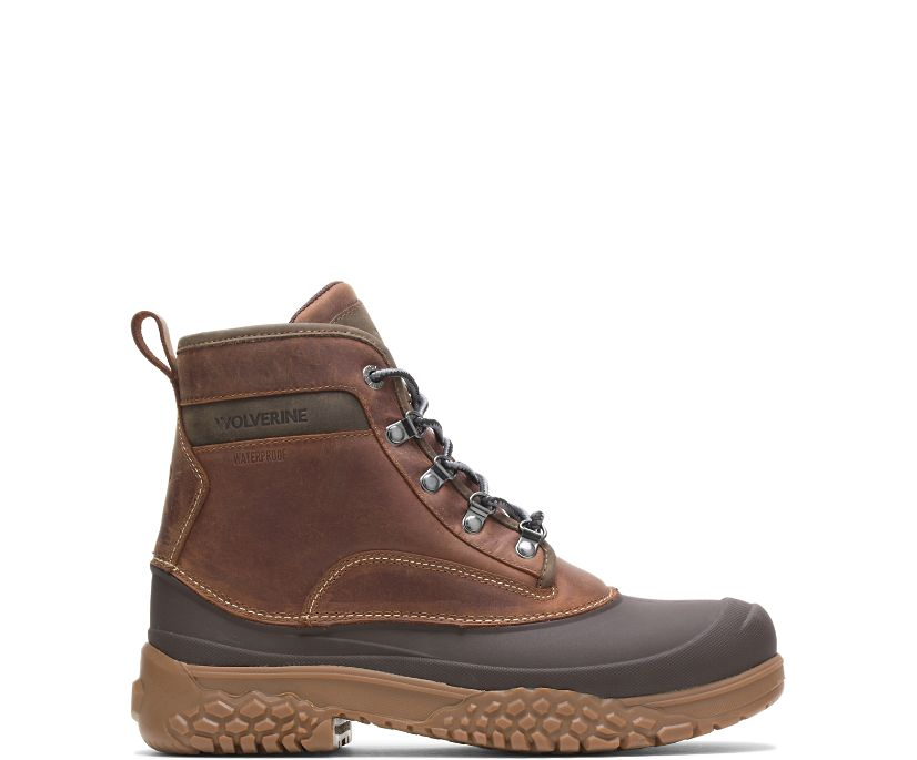 "Yak Insulated 6"" Boot, Brown, dynamic"