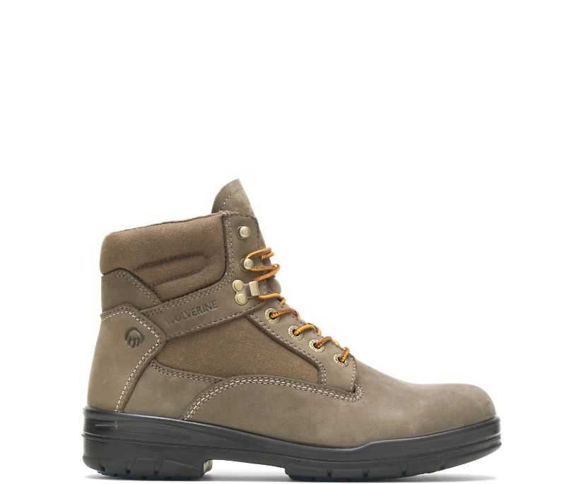 Ninety-Eight Canvas Boot, Taupe, dynamic