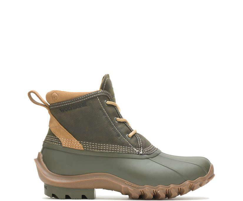 Torrent Waterproof Low Duck Boot, Olive, dynamic