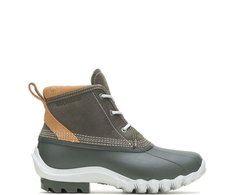 Torrent Waterproof Low Duck Boot, Grey, dynamic