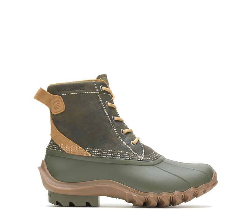 Torrent Waterproof Duck Boot, Olive Chukka, dynamic