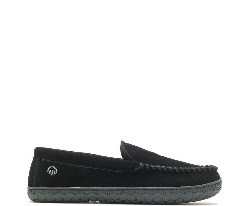 Venetian Slipper, Black, dynamic