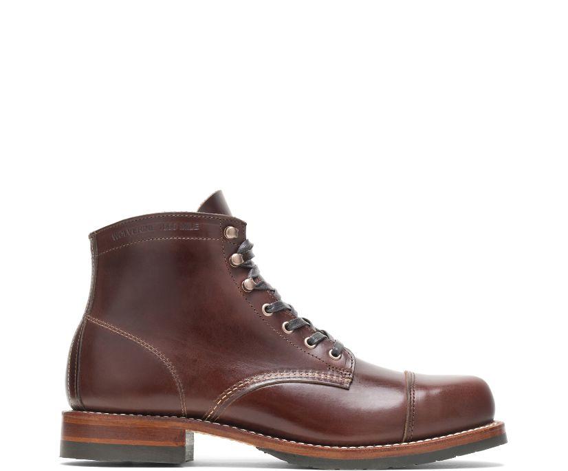 1000 Mile Cap-Toe Boot, Havana Brown, dynamic
