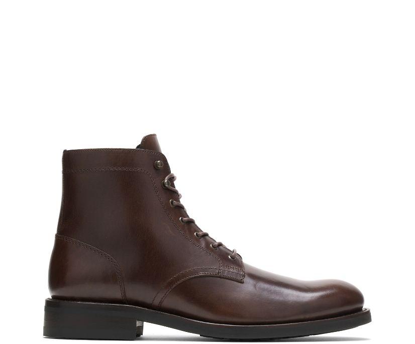 BLVD Plain-Toe Boot, Brown, dynamic