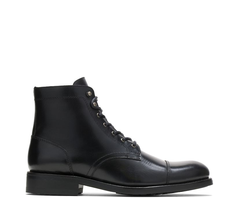 BLVD Cap Toe, Black, dynamic