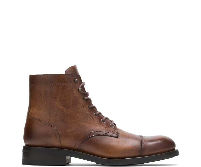 BLVD Cap Toe, Tan, dynamic