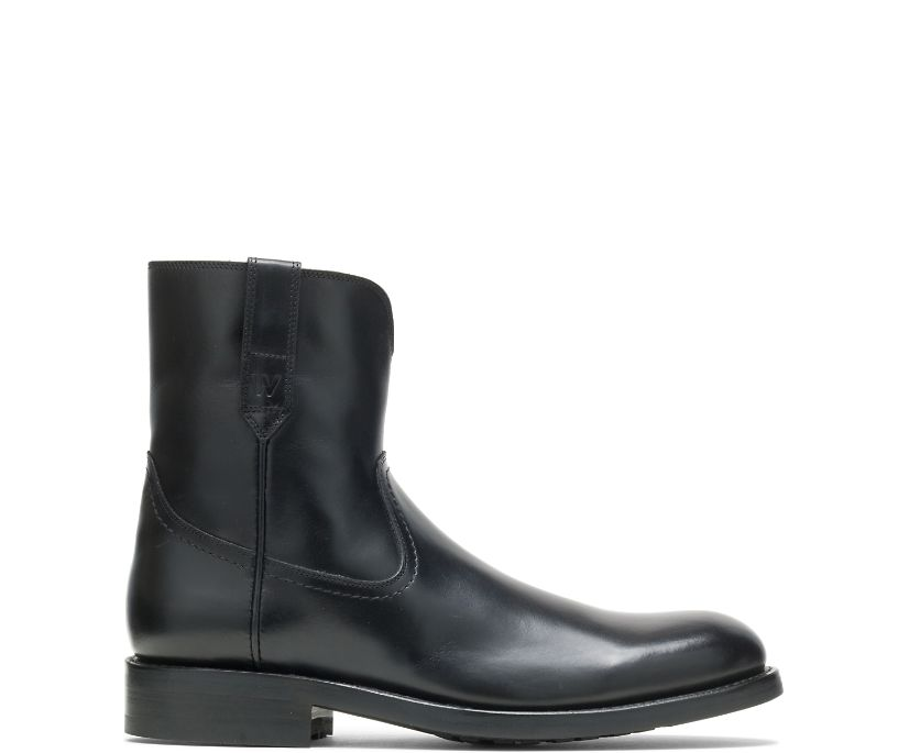 BLVD Zip Boot, Black, dynamic