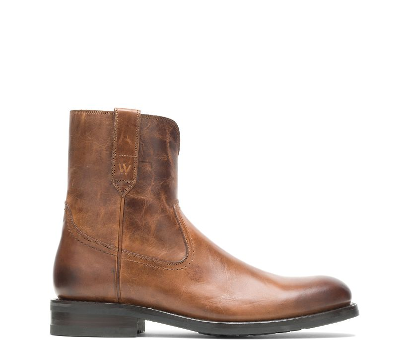 BLVD Zip Boot, Tan, dynamic