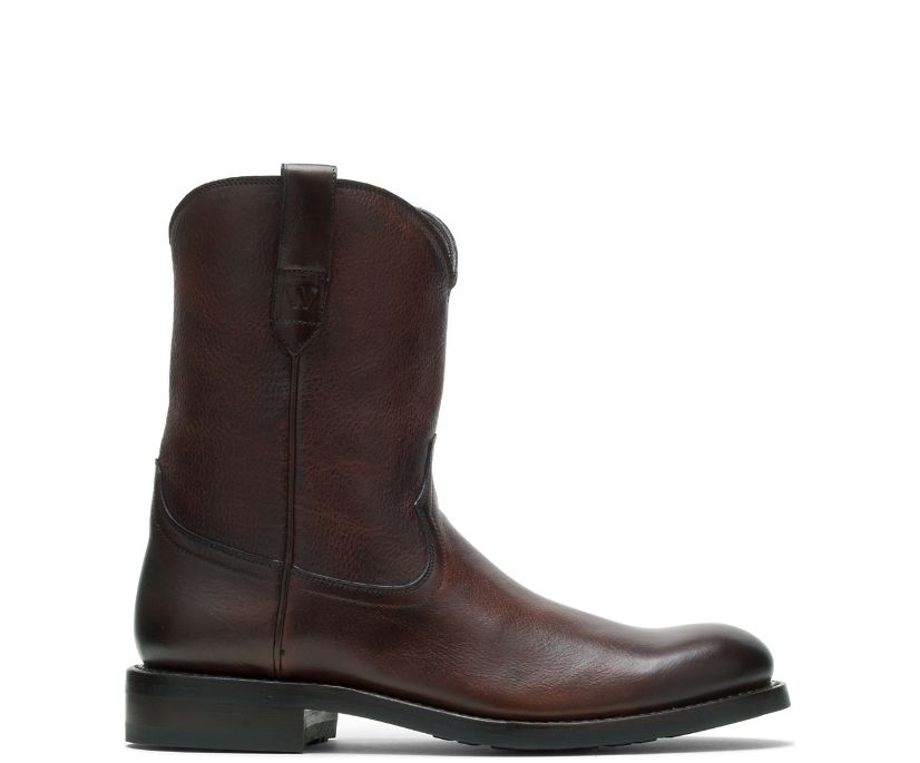 BLVD Pull-On Boot, Brown, dynamic