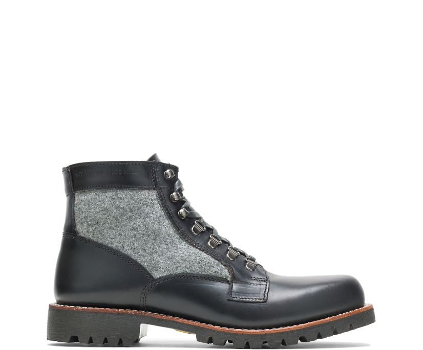 1000 Mile Faribault Boot, Black/Grey, dynamic