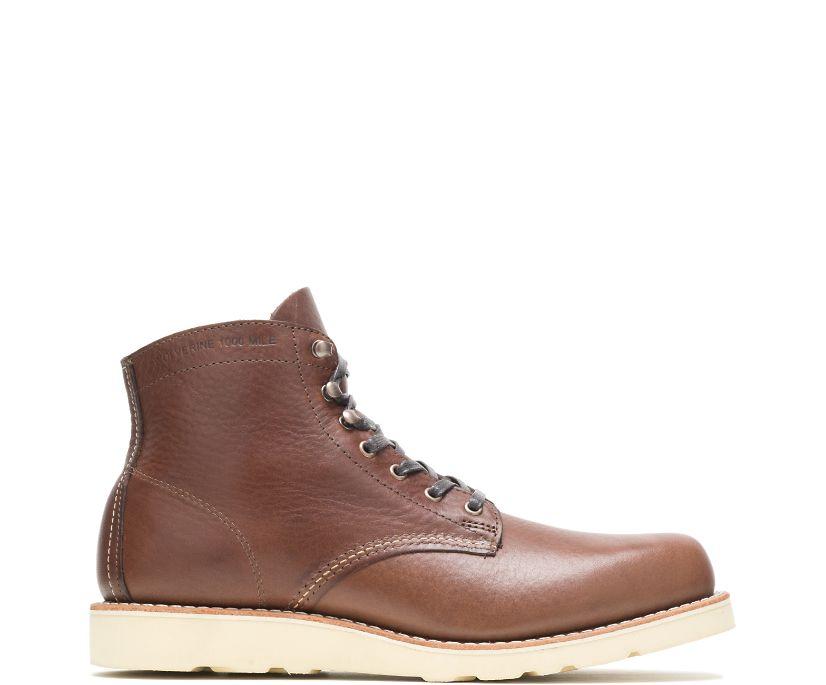 1000 Mile Wedge Boot, Brown, dynamic