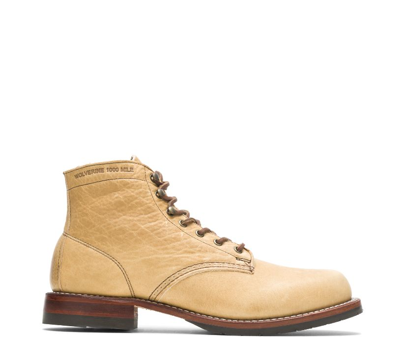Evans 1000 Mile Boot - Olive Tanned, Natural, dynamic
