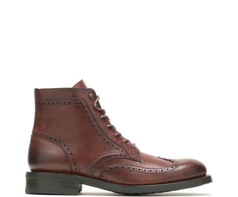 BLVD Wing Tip Boot, Cognac, dynamic