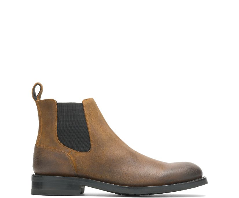 BLVD Chelsea, Rugged Leather Brown, dynamic
