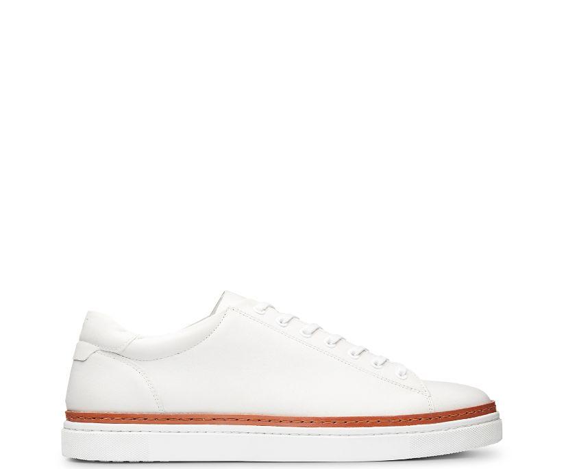 BLVD Low Sneaker, White, dynamic